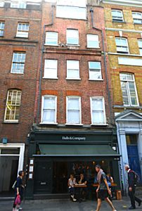 Former residence of De Quincey: 58 Greek Street, Soho