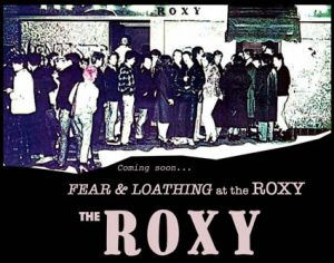 ExhibitionFear & Loathing at the ROXY - new exhibition