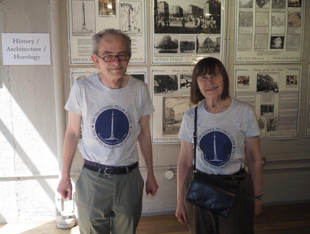 Camden History Society at Sundial Pillar 30th birthday