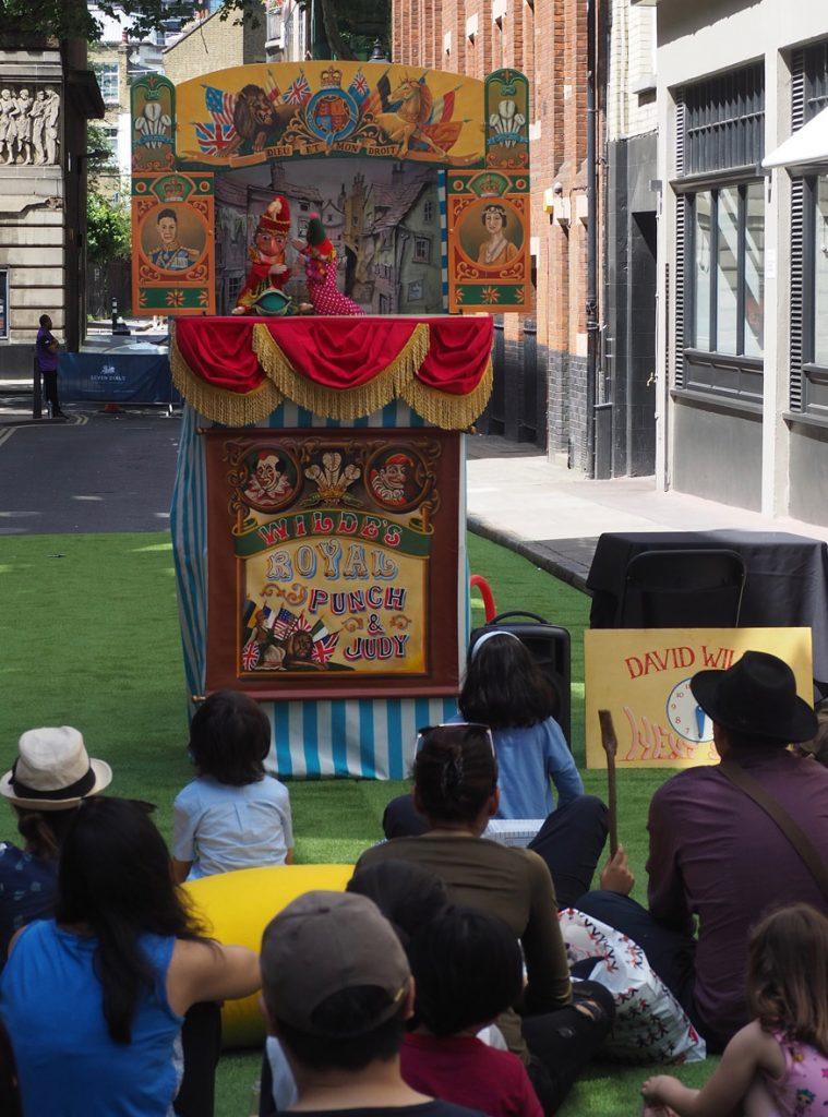 Punch & Judy at Sundial Pillar 30th birthday